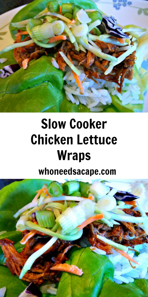 ext pin slow cooker chicken lettuce wraps