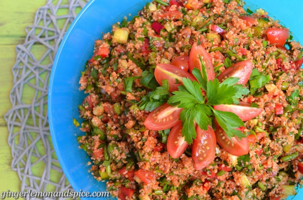 Kısır, Bulgur Salad 1