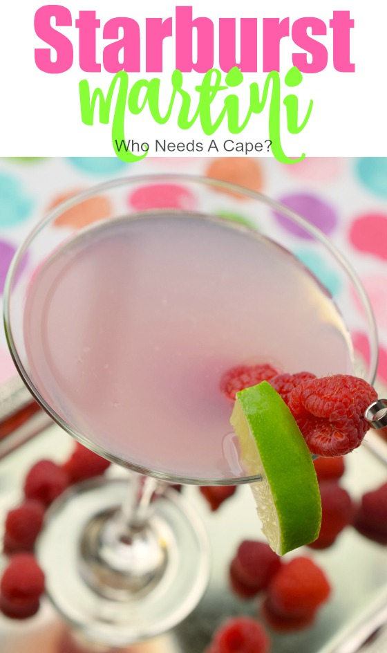 This Starburst Martini is a fantastic and flavorful cocktail that will remind you of the light pink Starburst candy. Super yummy, you'll love the flavor.