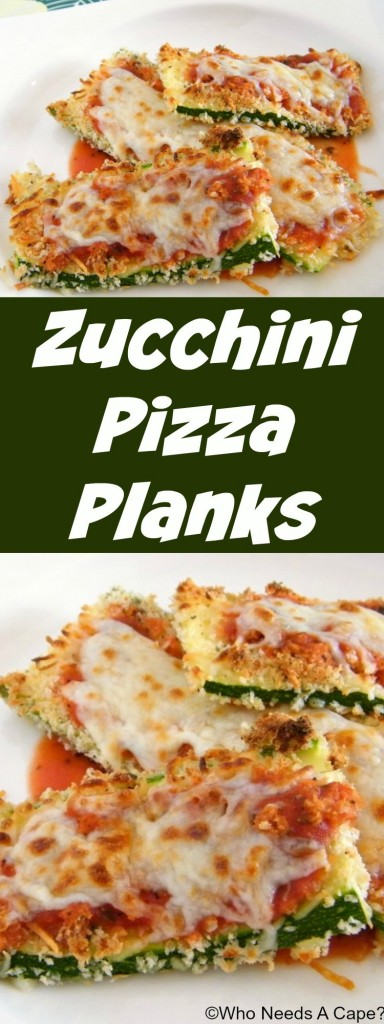 Zucchini Pizza Planks are a fun way to liven up zucchini. With just a touch of pizza flavors, this summer veggie takes on new life.