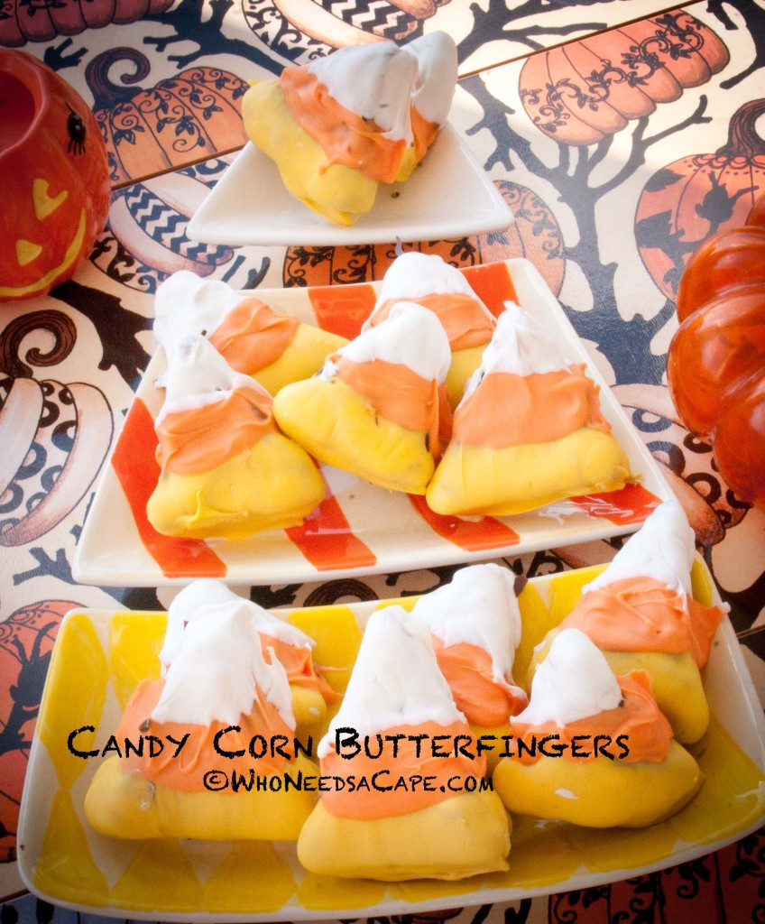 Candy Corn Butterfingers - Who Needs a Cape?