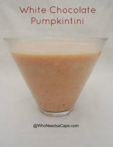 White Chocolate Pumpkintini