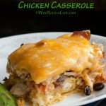 Hatch Green Chile Chicken Casserole