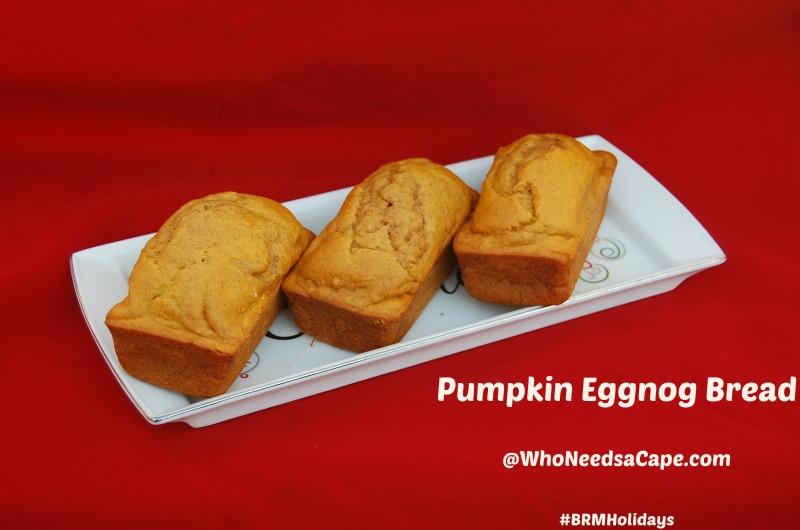 Pumpkin Eggnog Bread 3