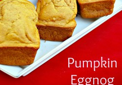 Pumpkin Eggnog Bread with Bob's Red Mill Flour
