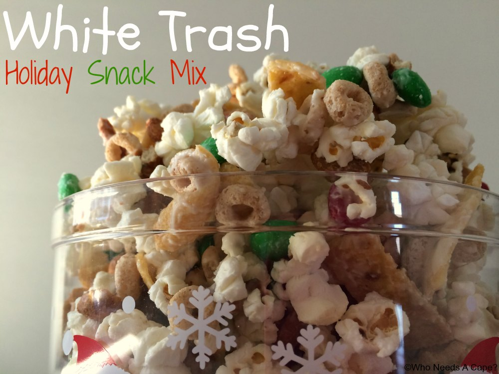 White Trash Holiday Snack Mix is a treat that you'll want to make every single holiday season. With sweet, salty and chocolately flavors, a great treat.