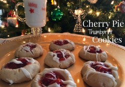 Cherry Pie Thumbprint Cookies