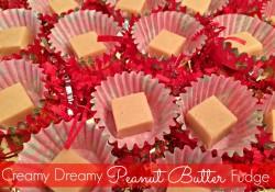 Creamy Dreamy Peanut Butter Fudge