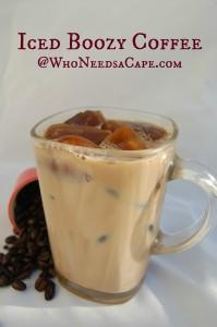 Iced Boozy Coffee
