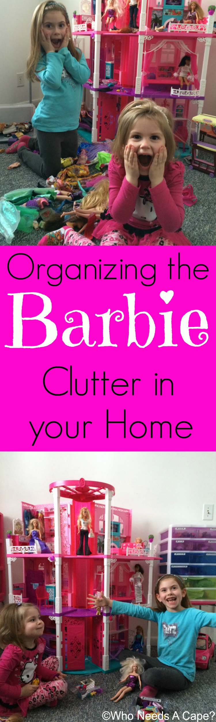 Organizing The Barbie Clutter In Your Home