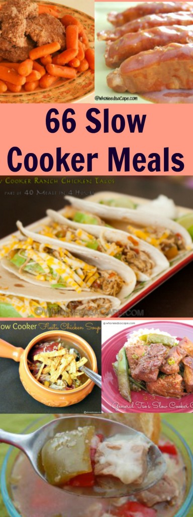 66 Slow Cooker Meals