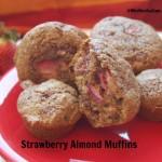 Strawberry Almond Muffins