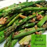 Garlic Roasted Asparagus