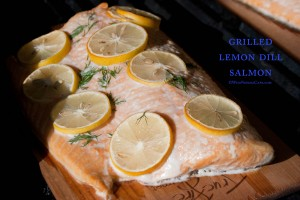 Grilled Lemon Dill Salmon