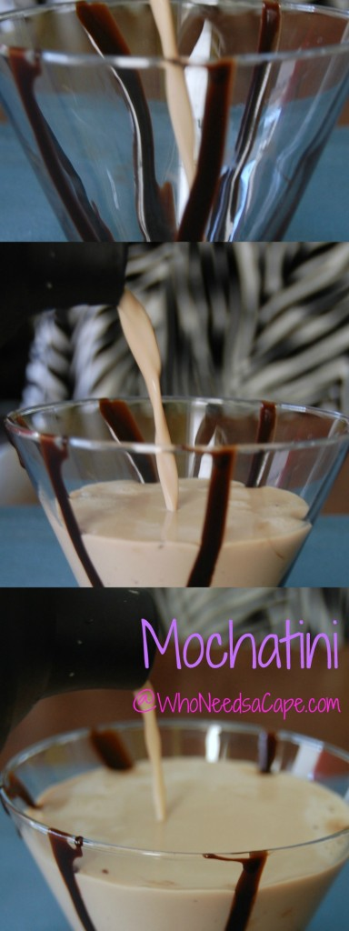 Shake up a Mochatini cocktail today and enjoy this rich delicious after dinner drink! Drink this instead of eating dessert - it's that good!
