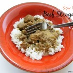 Simple Slow Cooker Beef Stroganoff