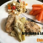 Artichoke & Lemon Slow Cooker Chicken