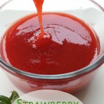 Strawberry Lime Syrup