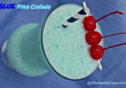 Blue Piña Colada