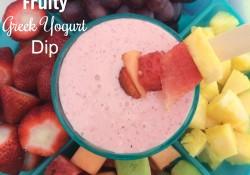 Fruity Greek Yogurt Dip | Who Needs A Cape?