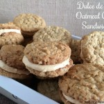 Dulce de Leche Oatmeal Cookie Sandwiches