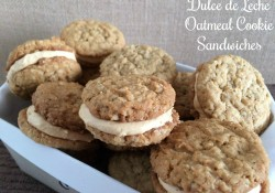 Dulce de Leche Oatmeal Cookie Sandwiches | Who Needs A Cape?