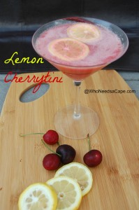 Lemon Cherrytini