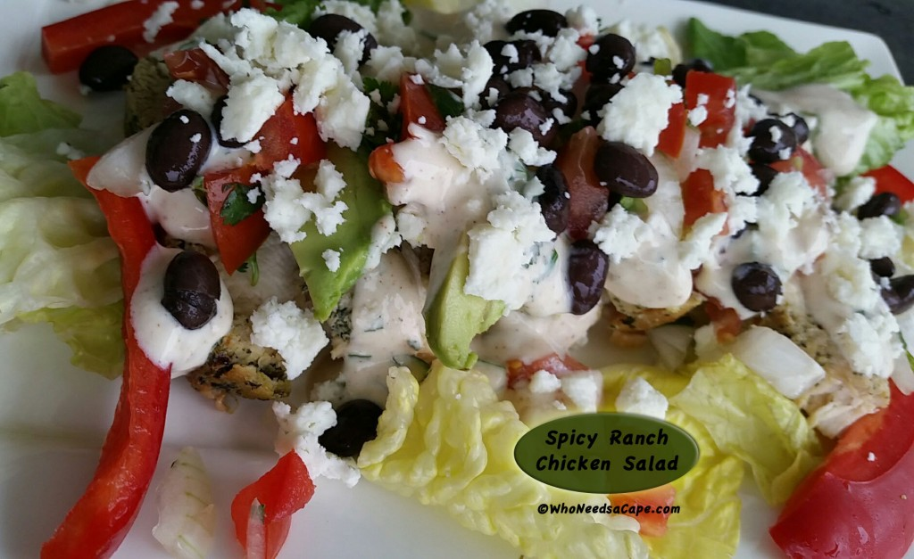 Spicy Ranch Chicken Salad