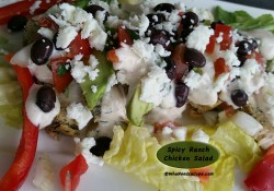 Spicy Ranch Chicken Salad