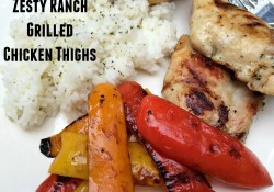 Zesty Ranch Grilled Chicken Thighs | Who Needs A Cape?