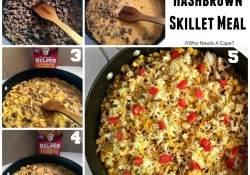 Beefy Hashbrown Skillet Meal | Who Needs A Cape?
