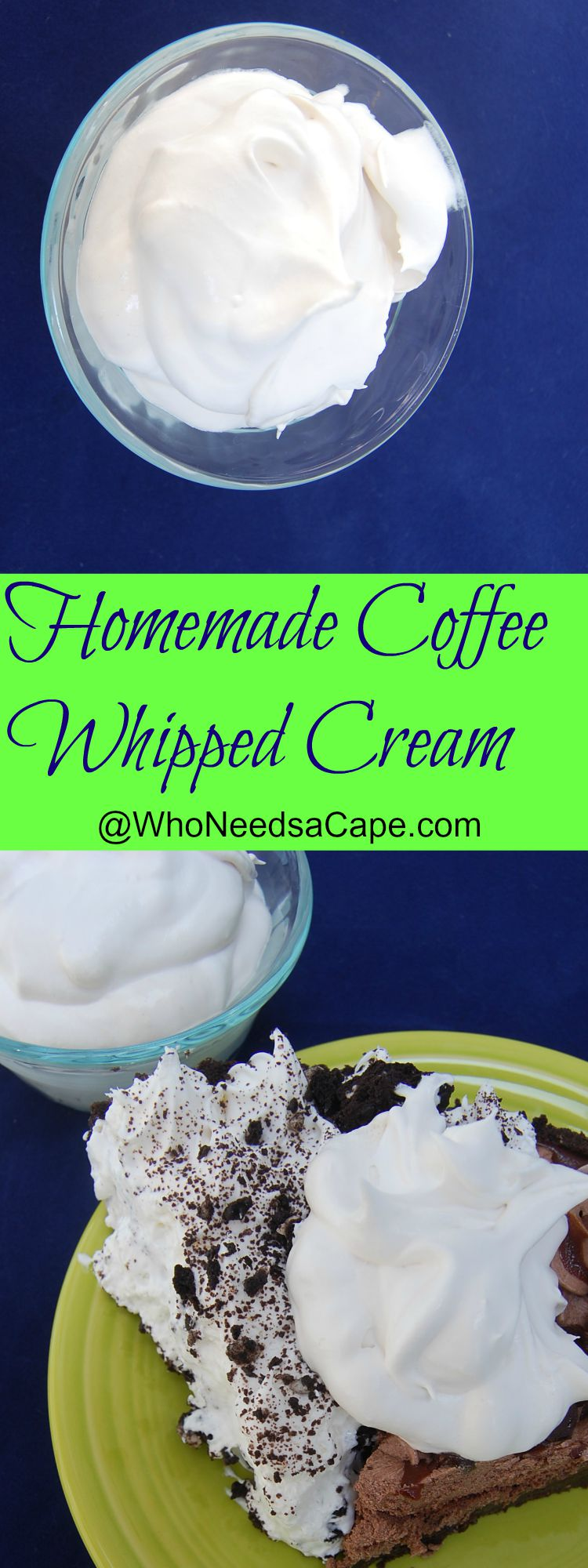 how to make coffee whipped cream