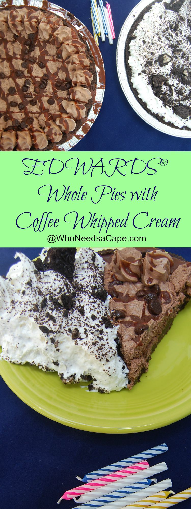 Edwards Pie Coffee Whipped Cream