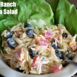 Orzo Ranch Pasta Salad #FinestGrillathon
