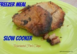 Slow Cooker Marinated Pork Chops