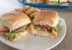 Chicken & Barbecue Sweet Corn Sliders