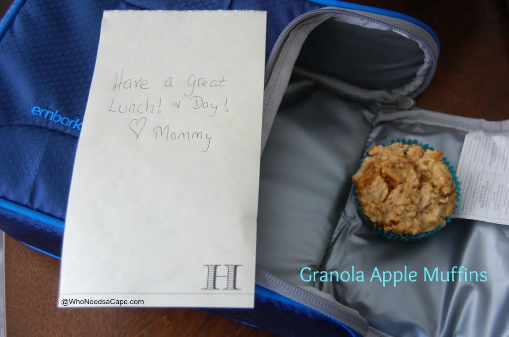 Granola Apple Muffins 1