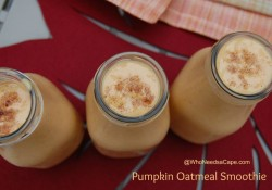 Pumpkin Oatmeal Smoothie