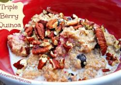 Triple Berry Quinoa