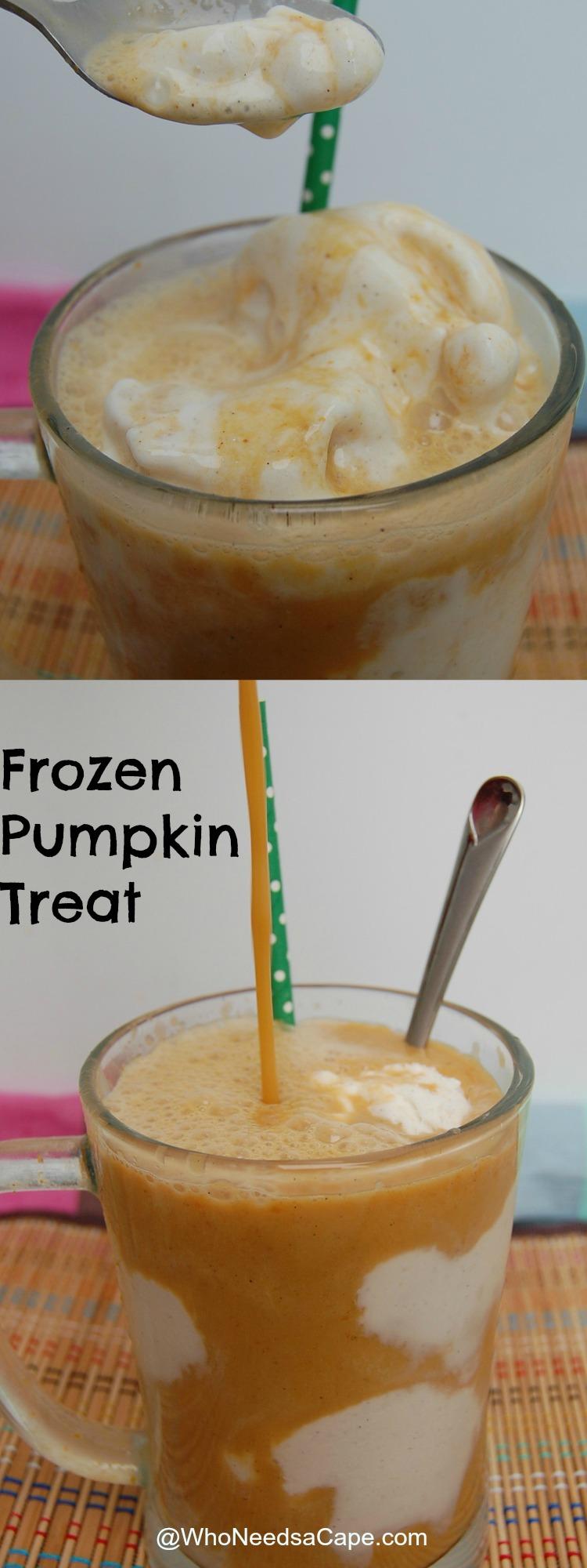Frozen Pumpkin Treat long