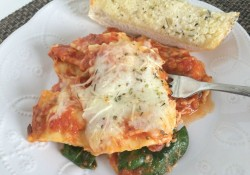 Simple 5 Ingredient Ravioli Lasagna