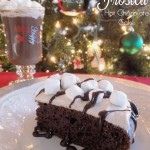 Frosted Hot Chocolate Cake