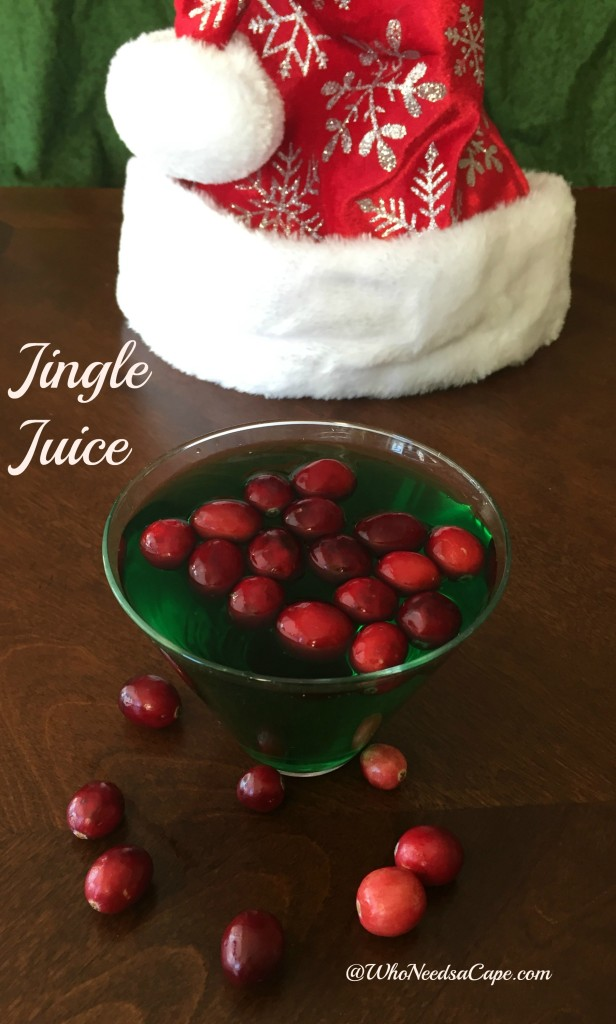 No holiday party will be complete without Jingle Juice! Serve this fun and easy to make cocktail at your next Christmas gathering.