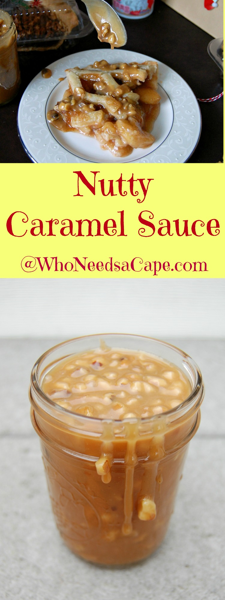 Nutty Caramel Sauce is an easy to make but amazing tasting sauce. A must for any dessert!
