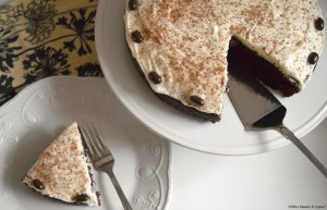 There's coffee baked right into this delicious Cream Cheese Frosted Chocolate Java Cake! This dessert is very tasty, your guests will gobble it up.