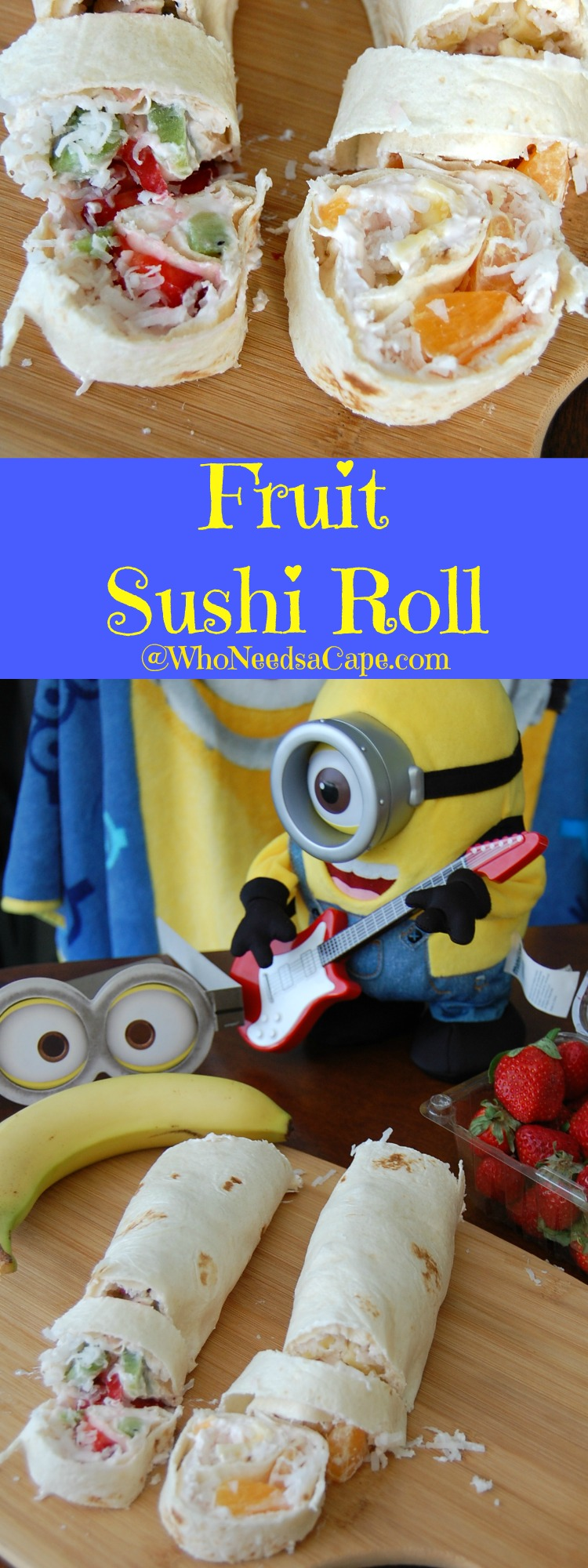 Fruit sushi Rolls are a delightful snack that is easy to make and tastes great!