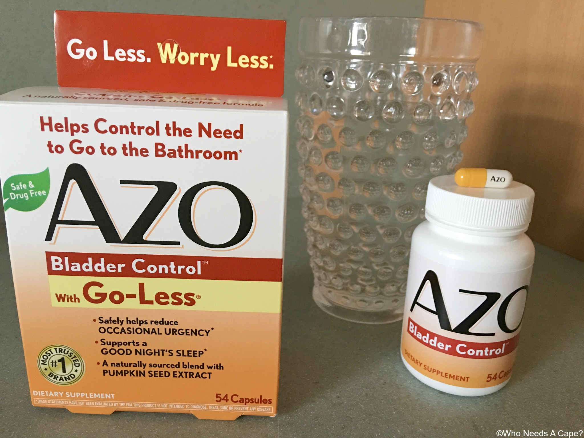 Azo Bladder Control >> Natural Bladder Control Help Who Needs A Cape