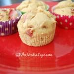 Peanut Butter Strawberry Muffins