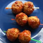 Sweet Sriracha Slow Cooker Meatballs