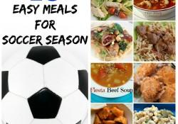 10 Easy Meals for Soccer Season